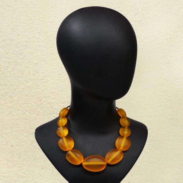 Colar Pedras Lalique