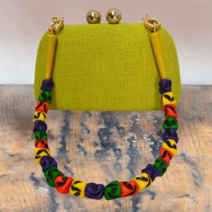Clutch Verde-Amarelado